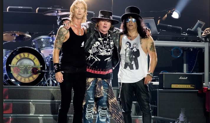 Guns N Roses Offering Vip Packages For Summer 2018 Europe Tour