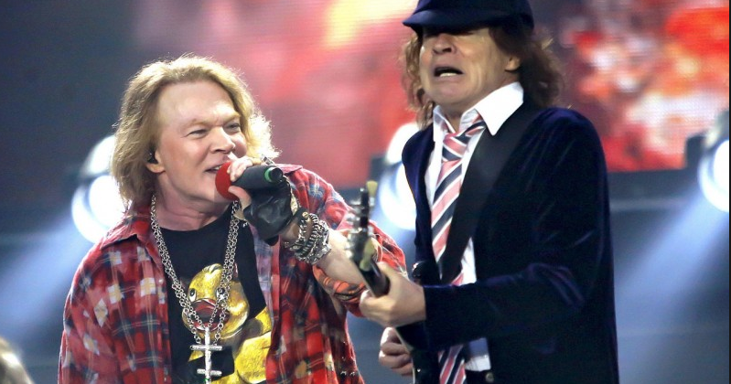 AC/DC Drummer Praises Axl Rose's Performance – Guns N' Roses Central