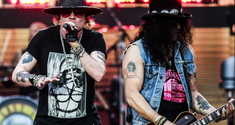 guns n roses release band rehearsal video with axl rose guns n 39 roses central latest guns. Black Bedroom Furniture Sets. Home Design Ideas