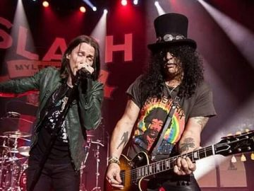 Slash and Myles