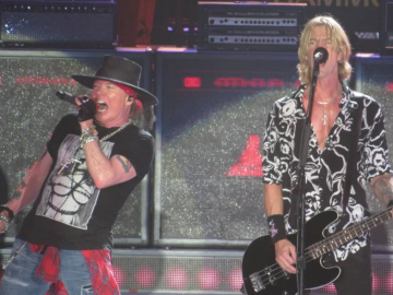 Duff and Axl Rose Philippines