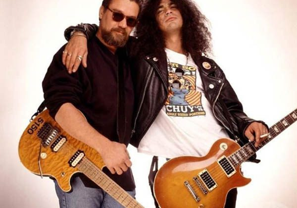 Slash and Eddie Van Halen