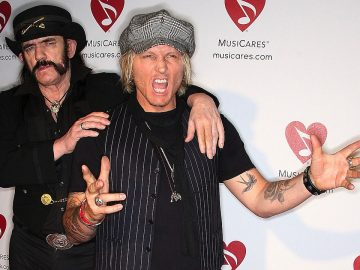 Matt Sorum and Lemmy
