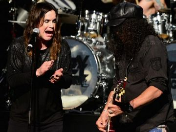Ozzy and Slash