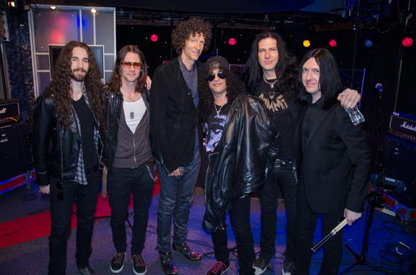 Slash on Howard Stern