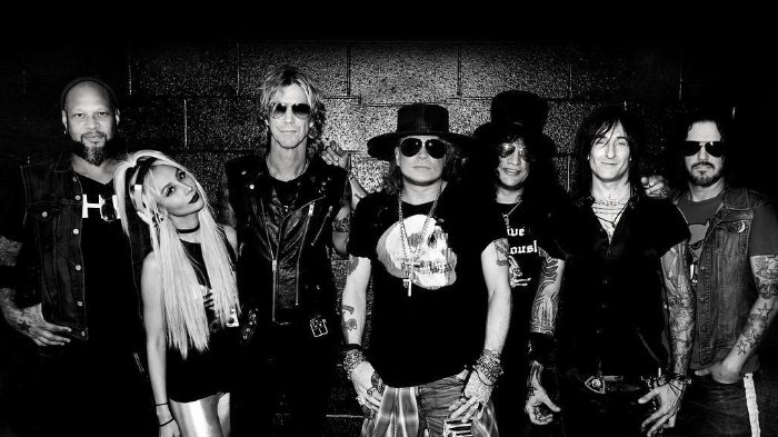 Guns N' Roses Band Photo
